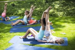 Yoga Kinderyogatuin Zomerkamp Yogakamp