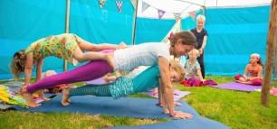 Kinderyoga - Tieneryoga - Familieyoga - Yoga Festival Terschelling - de Kinderyogatuin